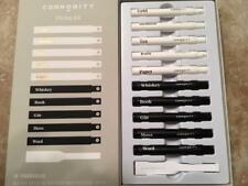 COMMODITY 10 Fragrance Fitting Kit GOLD MIMOSA RAIN WHISKEY GIN WOOL & More