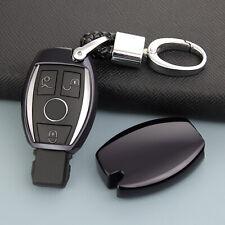 Black Smart Key Chain Case Cover For Mercedes-Benz A/B/C/E/S/G/M/V Class GLC GLA