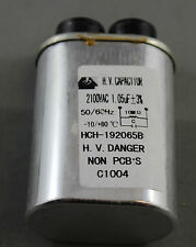 LG SAMSUNG SHARP PANASONIC Microwave Oven High Voltage Capacitor 1.05uF 2100V