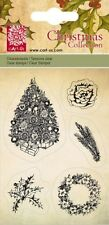 Christmas Collection Tree & Wreath - cArt-Us Clear Acrylic Stamp 001849/0091