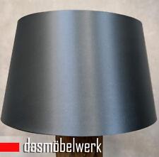 Großer Design Lampenschirm für Stehleuchten Lampen Schirm blau glänzend Ø 50 cm