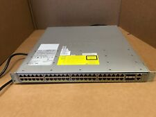 Cisco WS-C4948E 48 Port Gigabit Switch w/ 2x-PWR-C49E-300AC-R + WS-X4993