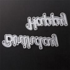 Geburtstag Cutting Dies Stencil DIY Scrapbooking Albums Tagebuch Stanzschablone