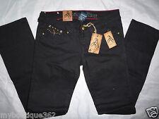 ANTIQUE RIVET nikki women's black straight leg jeans SIZE 28 new nwt