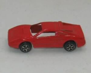 Vintage Tootsietoys Diecast Car Red Ferrari #308 Collectible Sports Luxury Race