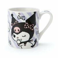 Kuromi Sanrio [New] Mug Cup Ceramic (logo) wz Box Gift Cute Japan Free Shipping