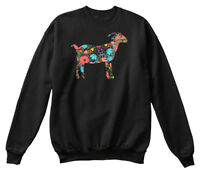 Goat Silhoute - Oi Hanes Unisex Crewneck Sweatshirt