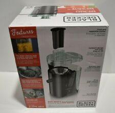 New 400 Watt Fruit And Vegetable Juice Extractor/Juicer, Compact Design, Black