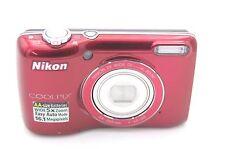 Nikon COOLPIX L26 16.1 MP 3'' SCREEN 5X Digital Camera - RED