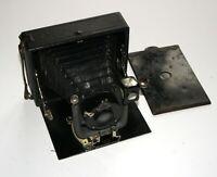 RARE HORISONTAL Folding 9x12 cm ORIONWERK camera SCHASO-ANASTIGMAT 135mm lens