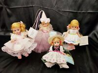 Madame Alexander Dolls lot 4 The Fairy Of Beauty + Rosy + Hedi + Birthday Dolls