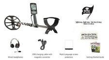 """Minelab EQUINOX 600 Multi-IQ Metal Detector with EQX 11"""" Double D Smart Coil"""