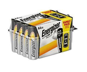 Energizer 24 Family Pack of AA Long Lasting Power Alkaline Batteries Battery