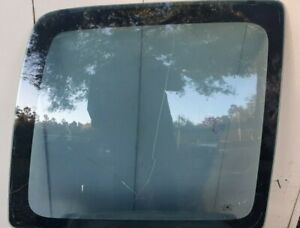 00-02 Chevy Express Van Driver Left Rear Barn Door Glass Window