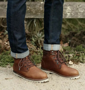 Toms Ashland 2.0 Mens Peanut Leather Casual Boots