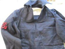 Ww2 Italian Navy Heavy Wool Dark Blue Pullover 38 Regular