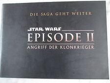 STAR WARS - EPISODE II - ANGRIFF DER KLONKRIEGER - Presseheft