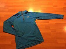 Under Armour All Seasons Gear Running 1/4 Zip Long Sleeve Top Mens Size Medium M