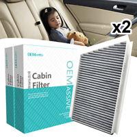 2x Car Cabin Filter For Mercedes-Benz C-Class S202 W203 CL203 S203 CLK C209 A209