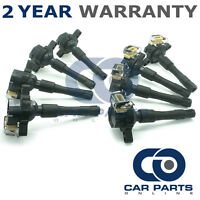 8X FOR BMW 7 SERIES E38 735I 3.5 PETROL (1996-01) IGNITION COIL PACKS PENCIL SET