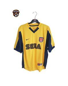 Vintage Original Arsenal FC Football Away Shirt 1999-2000 (S) Nike SEGA Jersey