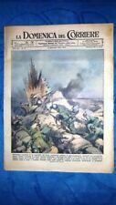 La Domenica del Corriere 19 novembre 1944 WW2 Aliprandi - Kamikaze - Meucci