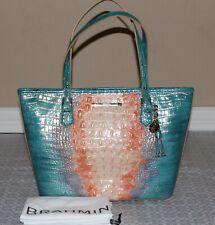 💚 Brahmin Medium Asher SUNDEW Ombre Melbourne Handbag Purse Tote Shoulder Bag