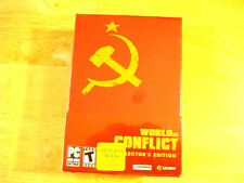 World in Conflict Collectors Edition - PC (New Factory Sealed)