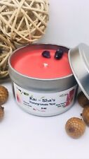 Pomgranate Noir 4 Oz Tin All Natural Soy Wax Candle