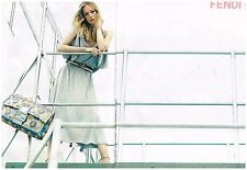 Publicité Advertising 2008 (2 pages) Haute Couture Fendi