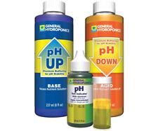 General Hydroponics Liquid pH Control Test Kit GH 8 oz Up Down Adjustment Combo