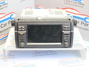 BMW M3 WIDE SCREEN SAT NAV DISPLAY HEAD UNIT E46 6923869 E2C1