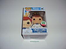 Freddy Funko # 10 8-Bit Pop Vinyl Figure Funko Limited Edition Exclusive