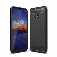 Pour Nokia 2.2 Case Fibre De Carbone Gel Cover Ultra Slim Antichoc