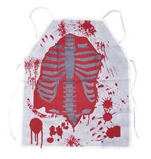 Blood Stained Apron Zombie Mad Scientist Doctor Halloween Fancy Dress Accessory