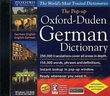 The Pop-up Oxford-Hachette German-English/English-Fr ench Dictionary on Cd-Rom