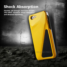 Luxury Yellow Triple Transformer Hybrid Heavy Duty Case Cover for iPhone 6 6S