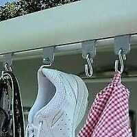 Fiamma Kit Awning S Hook Hangers for Motorhome Caravan Campervan (98655-743)