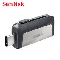 SanDisk Ultra Dual USB 3.1 OTG Type-C 64GB Flash Pen thumb Drive SDDDC2 150MBs