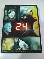 24 Sexta Temporada 6 Completa Kiefer Sutherland - 7 x DVD Español Ingles - 3T