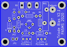 Triode Bias board MK-II V2.1 complete KIT for 8877 / GS31b / GS35b + others