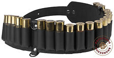 Leather Shotgun Shell Case Belt Holder Ammo Bandoleer 24 x 12 /16 Gauge