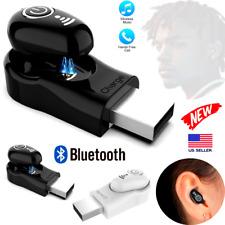 Newest Mini Wireless Bluetooth Stereo Sport Headset Earbuds In-Ear Earphone