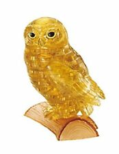 42 piece Crystal puzzle Owl Gold 3D puzzle