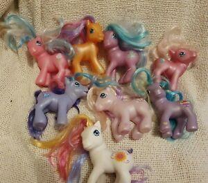 Used Job lot Bundle My Little Pony Set 2002 G2