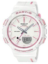 Casio BabyG * BGS100RT-7A Runner Anadigi Step Tracker White Pastel Pink #crzycod
