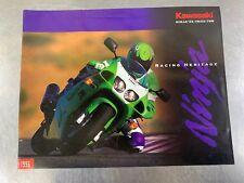 Kawasaki 1996 ZX-7R/ZX-7RR Ninja Brochure Dealer Sales Literature 96 ZX7R ZX7RR