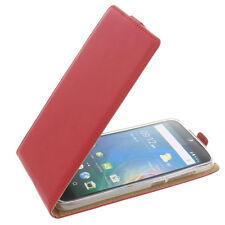 Custodia Per Acer Liquid Z630 Cellulare Modello Flip Protettiva Case Rosso