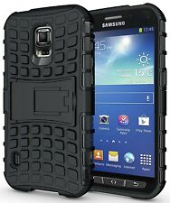 BLACK GRENADE RUGGED TPU SKIN HARD CASE COVER STAND FOR SAMSUNG GALAXY