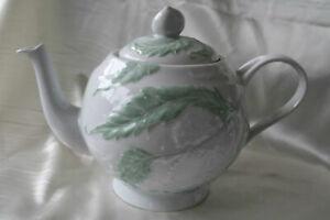 Vintage France Water Pot Elegant Hand Painted Philippe Deshoulieres Coffee Pot
